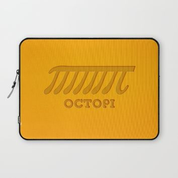 Octopi (PI) Laptop Sleeve by Badbugs_art