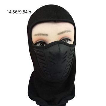 CAR-partment Winter Warm Motorcycle Windproof Face Mask Neck Helmet beanies Cap Sports Bicycle Thermal Hat for men women