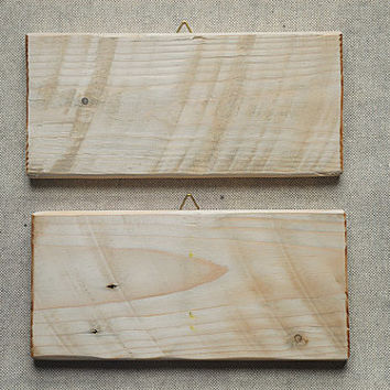Blank reclaimed wood signs - Creative Recycling supply
