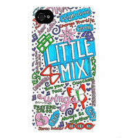 Little Mix Collage Art iPhone Case
