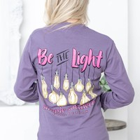 Be The Light | Plum & Pink | Simply Southern