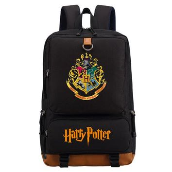 Student Backpack Children WISHOT Harry Potter School Bags Book Backpacks Children Bag Fashion Shoulder Bag Students Backpack Travel Bag for teenagers AT_49_3