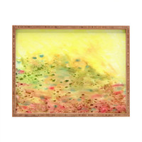 DENY Designs Rosie Brown Jeweled Pebbles Rectangle Tray