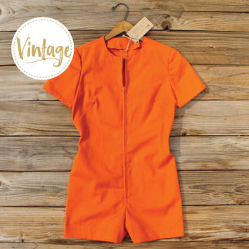 Bond Girl Vintage Romper