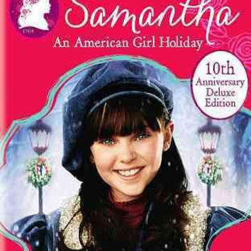 SAMANTHA:AMERICAN GIRL HOLIDAY 10TH A