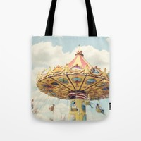 swings Tote Bag by sylviacookphotography