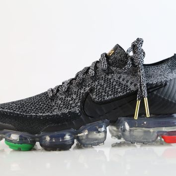 BC SPBEST Nike Air VaporMax Flyknit BHM Black Red Green AQ0924-007 (NO Codes)