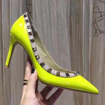 Valentino Women Fashion Casual High Heels Shoes