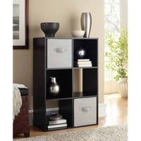 Mainstays 6 Cube Organizer, Multiple Colors - Walmart.com
