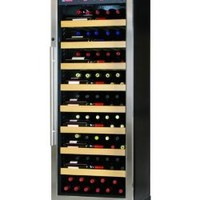 Allavino CWR270-1BS 107 Bottle Single-Zone Wine Cellar Refrigerator - Black Cabinet with Stainless S