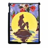 Ariel Little Mermaid Disney Flower Vintage iPad 3 Case