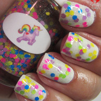 Unicorn Nail Polish by TheNailJunkie on Etsy