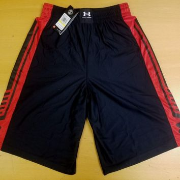 Under Armour 1260242 |  Men's Basketball Shorts Pant | Black | Large