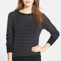 Women's Halogen Stitch Stripe
