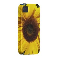 Sunny Sunflower iPhone 4 Case from Zazzle.com