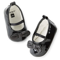 Carter's Patent Mary Jane Crib Shoes
