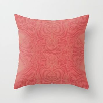 Ascend Throw Pillow by duckyb