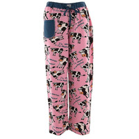 Cow Moody In the Morning Women's Pajama Pants