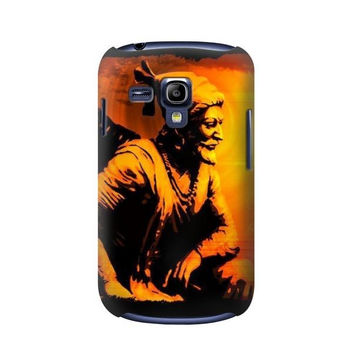P1105 Shivaji Maharaj Rajesh Khilari Case For Samsung Galaxy S3 mini