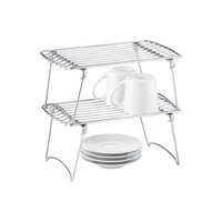 Small Chrome Stackable Shelf