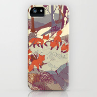 Fisher Fox iPhone Case by Teagan White | Society6