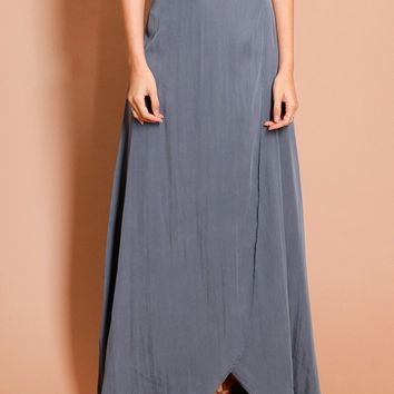 Waves Of Bliss Maxi Skirt | Threadsence