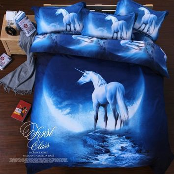 new year gifts 3d galaxy mercury bedding set duvet/doona cover bed sheet pillow cases 3/4pcs bedclothes queen twin XL bed