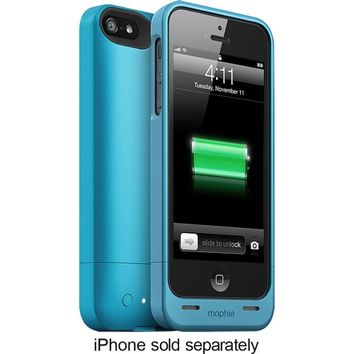 mophie - juice pack helium Charging Case for Apple® iPhone® 5 and 5s - Blue