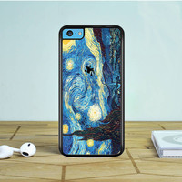 Van Gogh Harry Potter Paintings Starry Night iPhone 5 5S 5C Case Dewantary