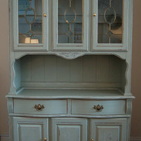 Large ' French Style' Dresser REDUCED FROM 65000 by peelingpaint