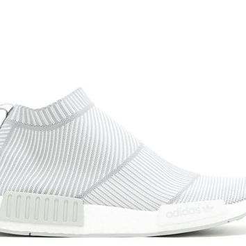 qiyif Adidas NMD City Sock  Grey/White