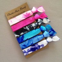 The Galaxy Hair Tie Ponytail Holder Collection by Elastic Hair Bandz