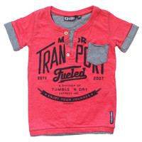 Tumble 'N Dry Guilford Boys Tee - Melon - FINAL SALE