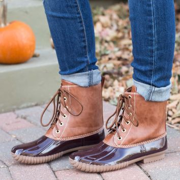 Classic Duck Boot- Brown