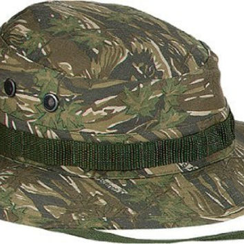 Smokey Branch Camouflage Military Boonie Hat 5820 Size 7 1/2