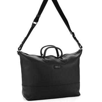 Hugo Boss Leather Travel Bag