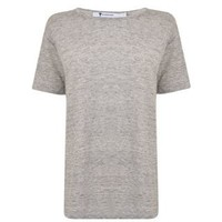 Short Sleeved Linen Tshirt