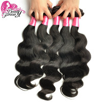 Beauty Forever Brazilian Virgin Hair Body Wave 7A Brazilian Hair Weaves 4 Bundles Virgin Brazilian Body Wave Human Hair Weaving