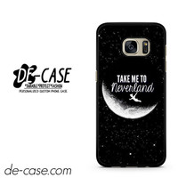 Take Me To Neverland Peter Pan DEAL-10440 Samsung Phonecase Cover For Samsung Galaxy S7 / S7 Edge