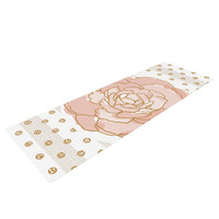 "Pellerina Design ""Watercolor Peony"" Pink Floral Yoga Mat"