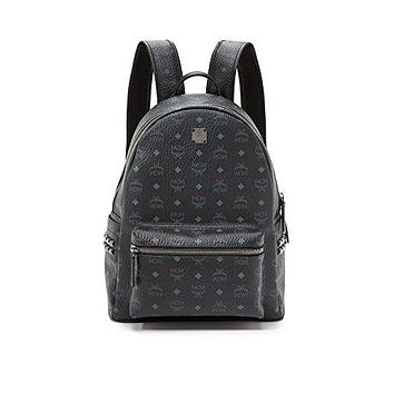 MCM Men's Stark Medium Side Stud Backpack