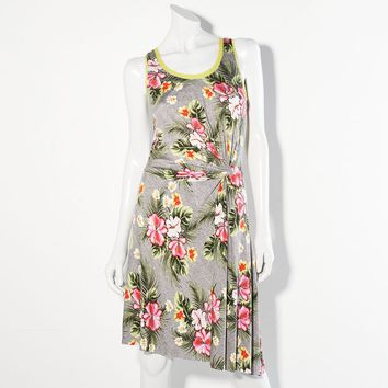 Princess Vera Wang Knot Shift Dress - Juniors, Size: