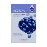 The Face Shop Real Nature Mask - Blueberry