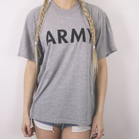 Vintage Army T Shirt