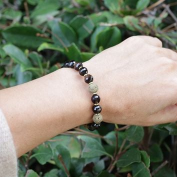 Smoky Quartz Essential Oil Bracelet