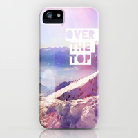 Over the top - for iphone iPhone & iPod Case by Simone Morana Cyla