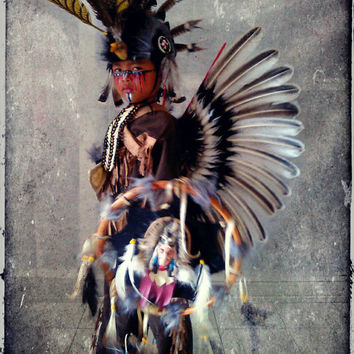 Native American Costume, Turkey Feather Wings, Indian Clothing, Indian Costume, Native American Costume, postapocalyptic, mad max
