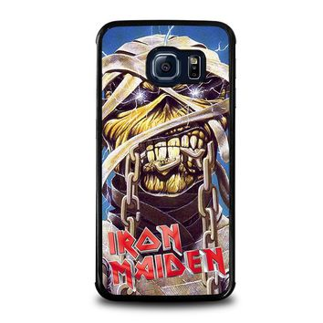 iron maiden samsung galaxy s6 edge case cover  number 1