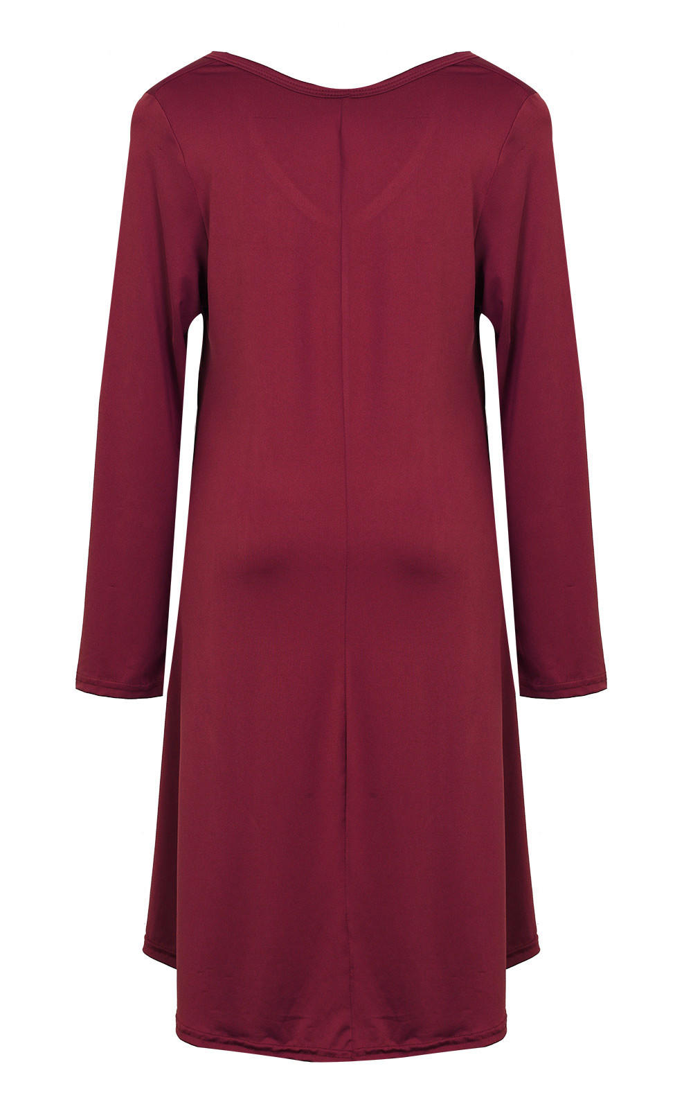 0746402115e62 Fashion Clothes vestidos Women Dress 2016 Autumn Winter Dress Female 100%  Cotton O-neck Long Sleeve Dress Woolen Dresses