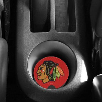 Chicago Blackhawks 2-Pack Neoprene Car Coasters - Red
